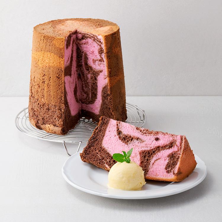 FLAVOR フレイバー 季節限定 ラズベリーチョコレートシフォンケーキ バレンタイン