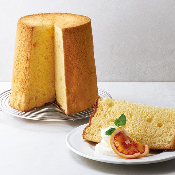 フレイバー ブラッドオレンジシフォンケーキ 季節限定 春ギフト